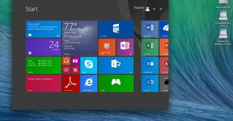 Windows 81 on Mac