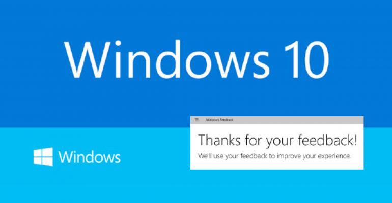 Tip: Adjust feedback frequency in Windows 10