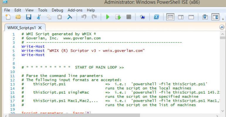 Goverlan's WMI Explorer Gets Full PowerShell Support