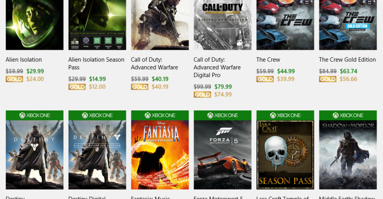 Xbox Ultimate Game Sale allows Xbox One gamers to rack up the savings