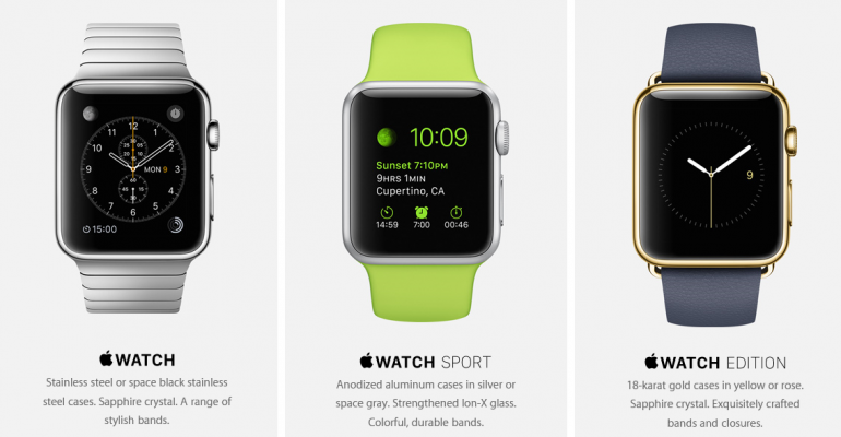 Apple announces new Watch and MacBook at Spring Forward event
