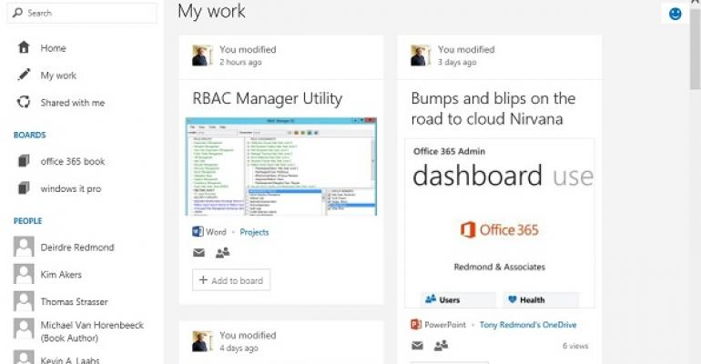 Microsoft releases Delve after six months incubation in Office 365 First Release program