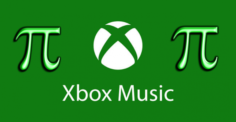 Xbox Music Pass will sell for $31.41 on Pi Day