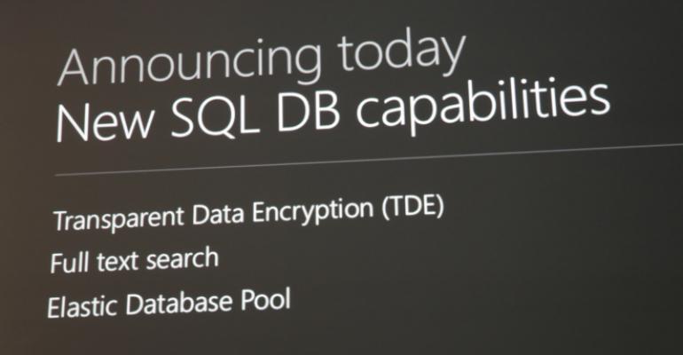 Getting Started with Azure SQL Database v12