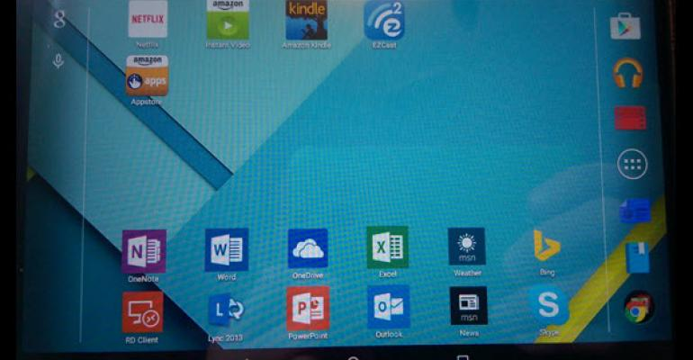 Is Android with Microsoft Apps a Viable Business Solution?