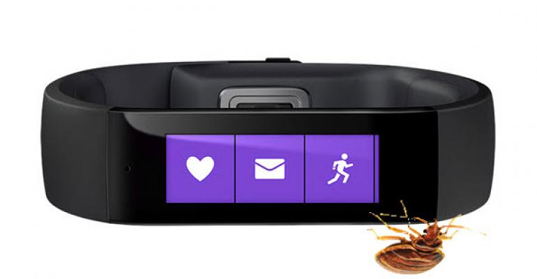 Microsoft Band Activity Bug Workaround