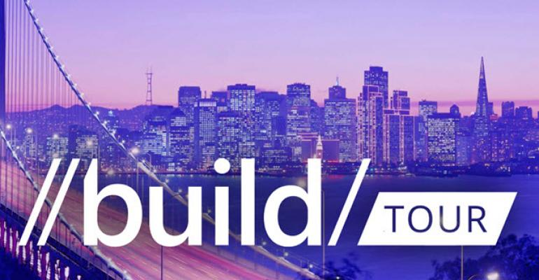 Microsoft BUILD Goes on Tour