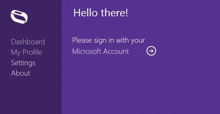 Microsoft Band Desktop Sync