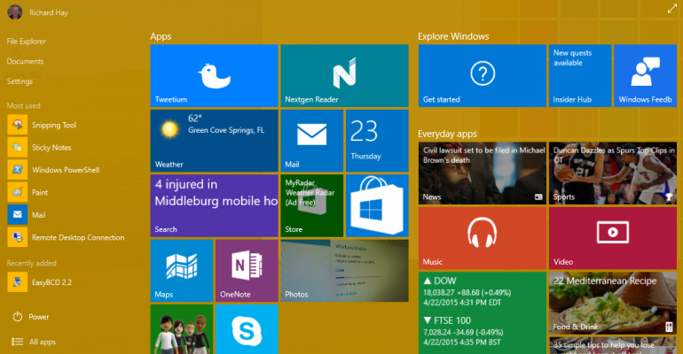 The trials and tribulations of installing Windows 10 build 10061