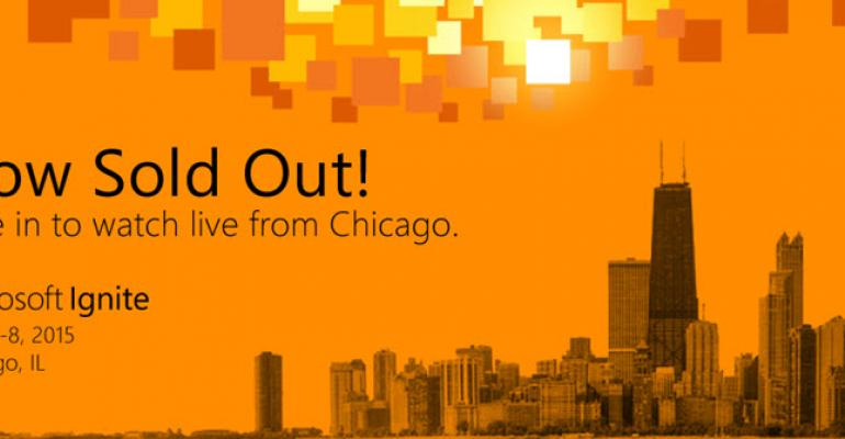Microsoft Ignite Sells Out, Rolls Out MyIgnite