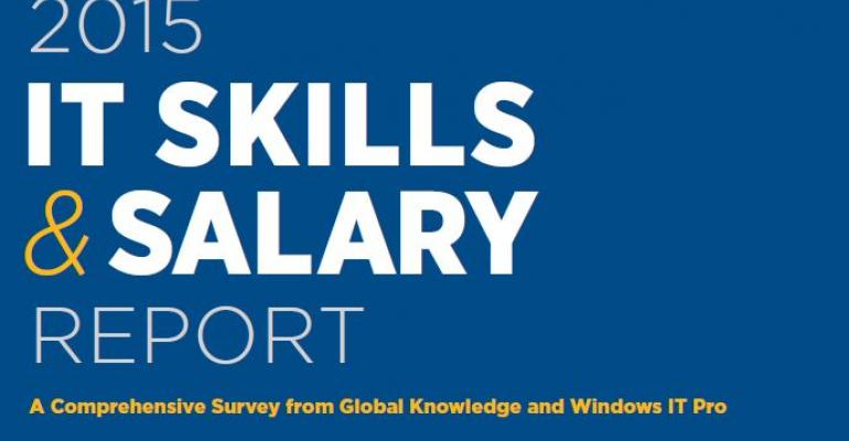 2015 IT Skills & Salary Report: The New Normal