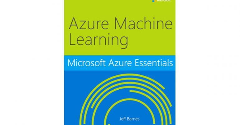 Free eBook on Azure Machine Learning