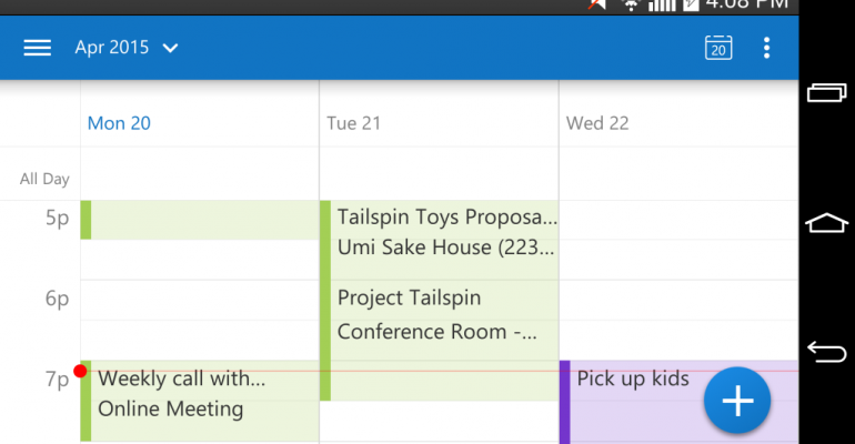 Microsoft makes Outlook for Android official
