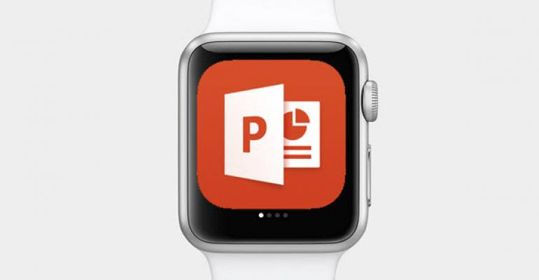 Control PowerPoint Presentations with Apple Watch