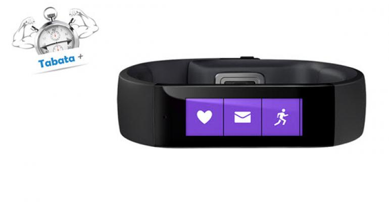 Roll Your Own Tabata Routines for the Microsoft Band