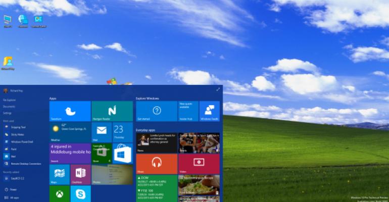 Gallery Windows 10 build 10061