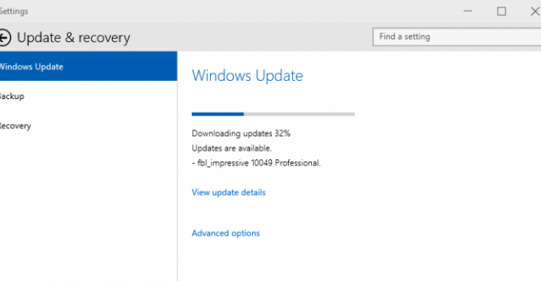 Microsoft issues fixes for two known issues in Windows 10 build 10049