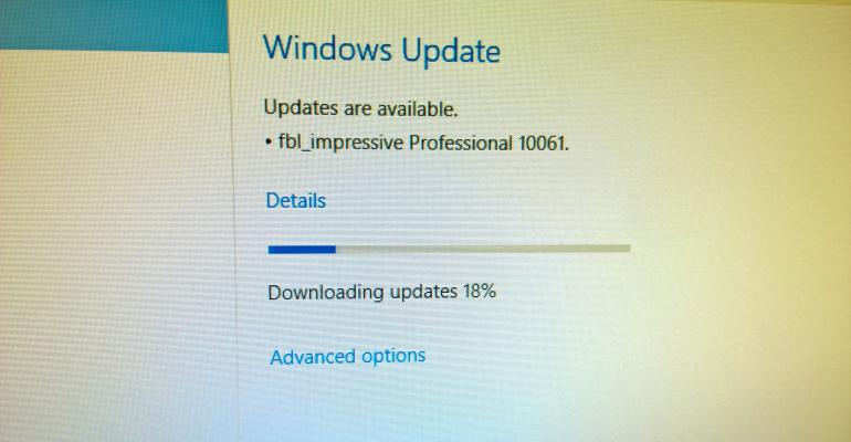 Windows 10 build 10061 now available for Fast Ringed Windows Insiders