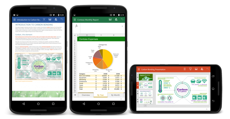 Public Preview of Office apps now available for Android users