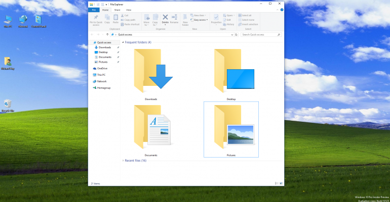 Hands On: Windows 10 build 10125