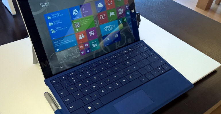 Surface 3 now available for retail purchase