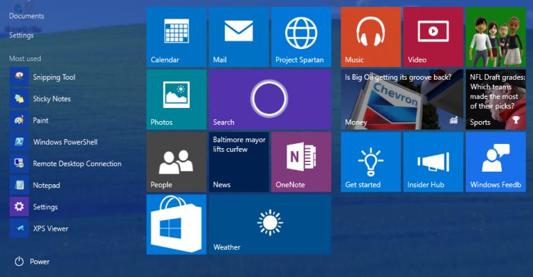 Windows 10 build 10074 receives minor fixes through Windows Update KB3061161