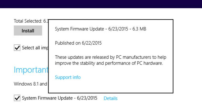 Surface Pro 3 and Surface 3 Graced with June Firmware Updates