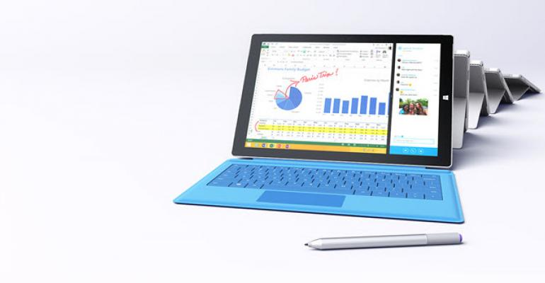 Microsoft Adds New Core i7 Entry Model to the Surface Pro 3 Line