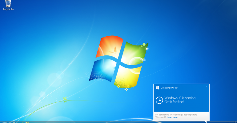 Windows 10 will be available on 29 July 2015
