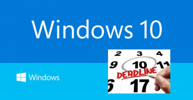 Windows 10 - 30 Days and Counting to General Availability