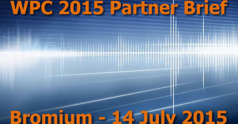 WPC 2015 Partner Brief - Bromium