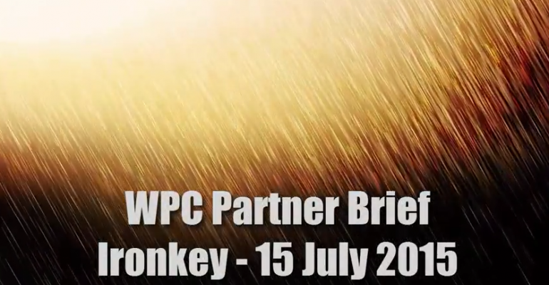 WPC 2015 Partner Brief - Ironkey by Imation