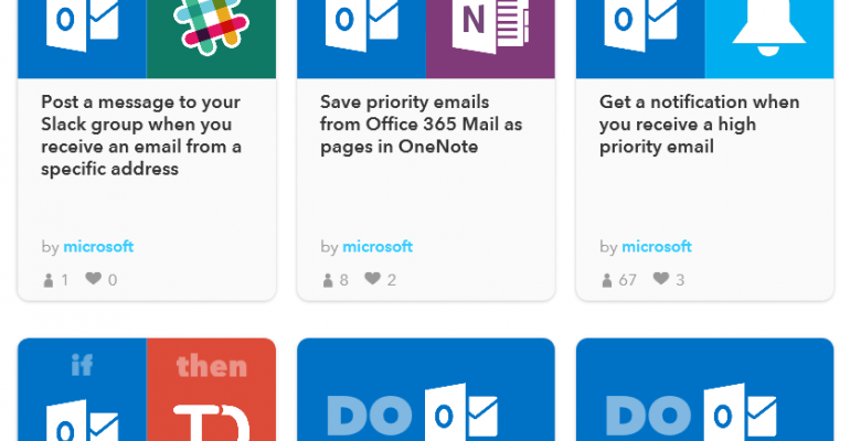 Office 365 joins IFTTT to automate routine tasks