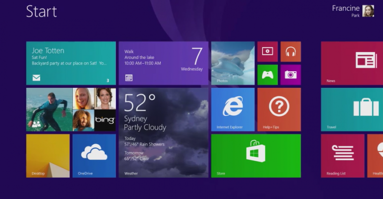 No Start Menu and App Sync for Windows 10