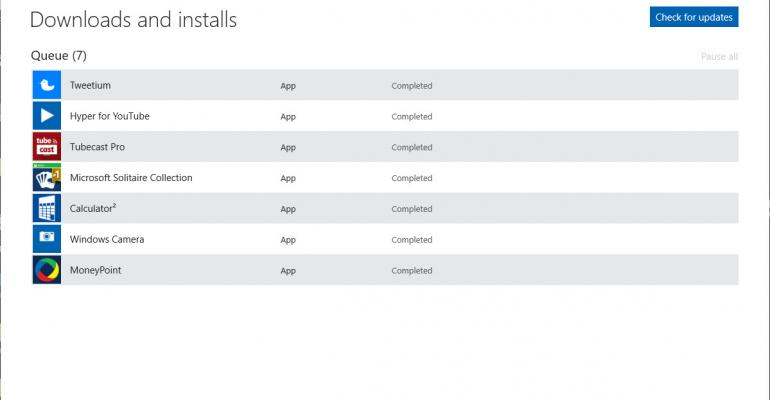 How To: Fix Stopped Windows Store Downloads in Windows 10