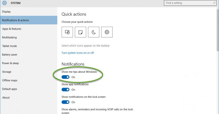 """""""Show Me Tips"""" Causing High CPU Utilization in Windows 10"""