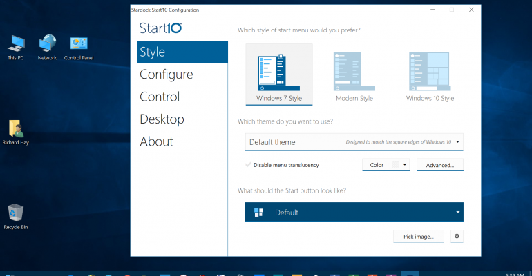 The SuperSite for Windows Stardock Start10 Giveaway