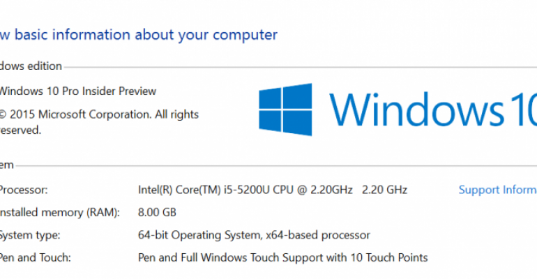 Windows 10 Build 10532 drops for Insiders