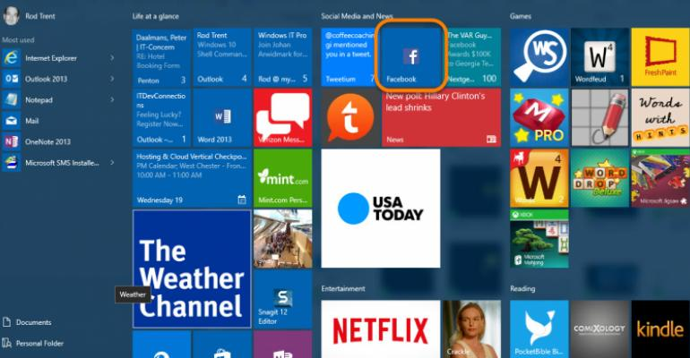 How To: Add a Web Shortcut to the Windows 10 Start Screen