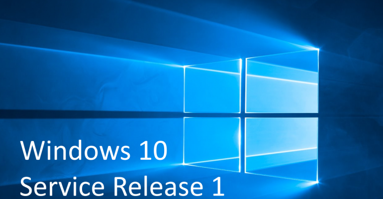 What we know about Windows 10 Service Release 1 (SR1)