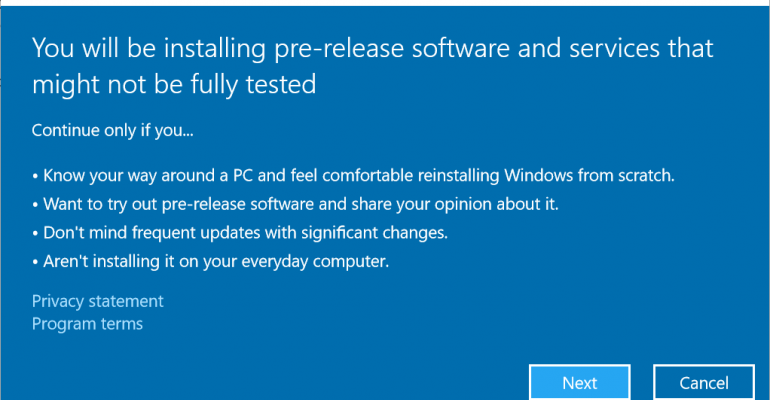 Windows 10 insider program only available on genuinely activated windows 10 insider program only available on genuinely activated systems ccuart Choice Image