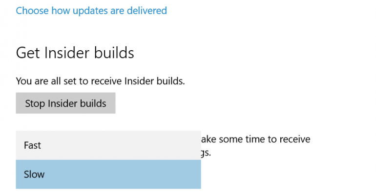 You can now opt back into receiving Windows 10 Insider builds