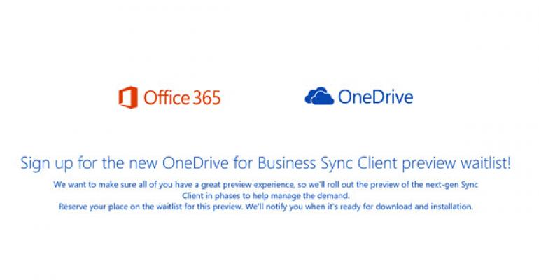 New Unified OneDrive Sync Client Offers IT Management Features