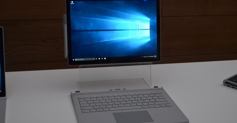 Big launch day for Microsoft's Surface Book and Surface Pro 4