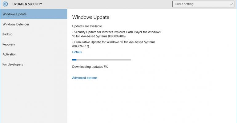 Patch Tuesday: Windows 10 Gets an October 13th Cumulative Update to Bolster Security