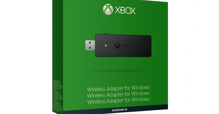 Xbox Wireless Controller Adapter for Windows to be available soon