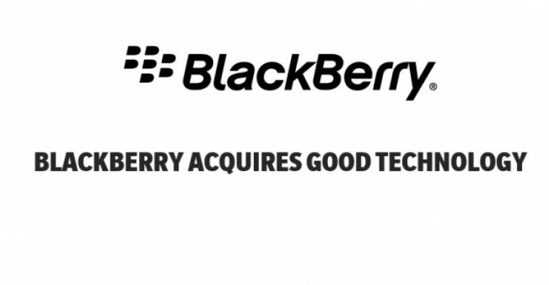 Blackberry Completes Acquisition of Good Technology
