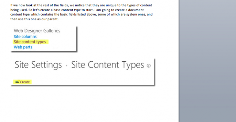 SharePoint How-To Series: Content Types for Beginners