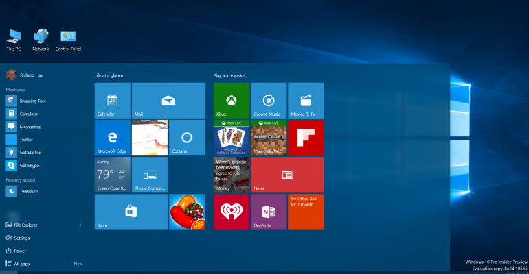 Windows 10 Build 10586 heads to Slow Ring Insiders