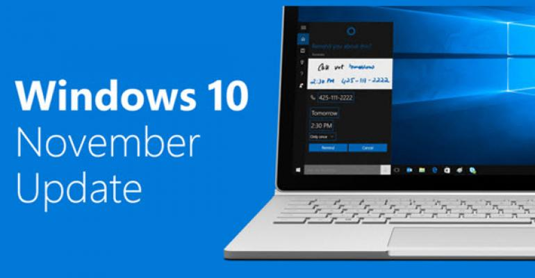 Windows 10 1511 – What's Available, What's Coming